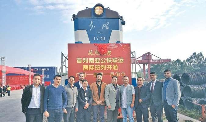 चीनबाट नेपाल लक्षित गुडेको मालबाहक रेल ल्हासा पुग्यो…