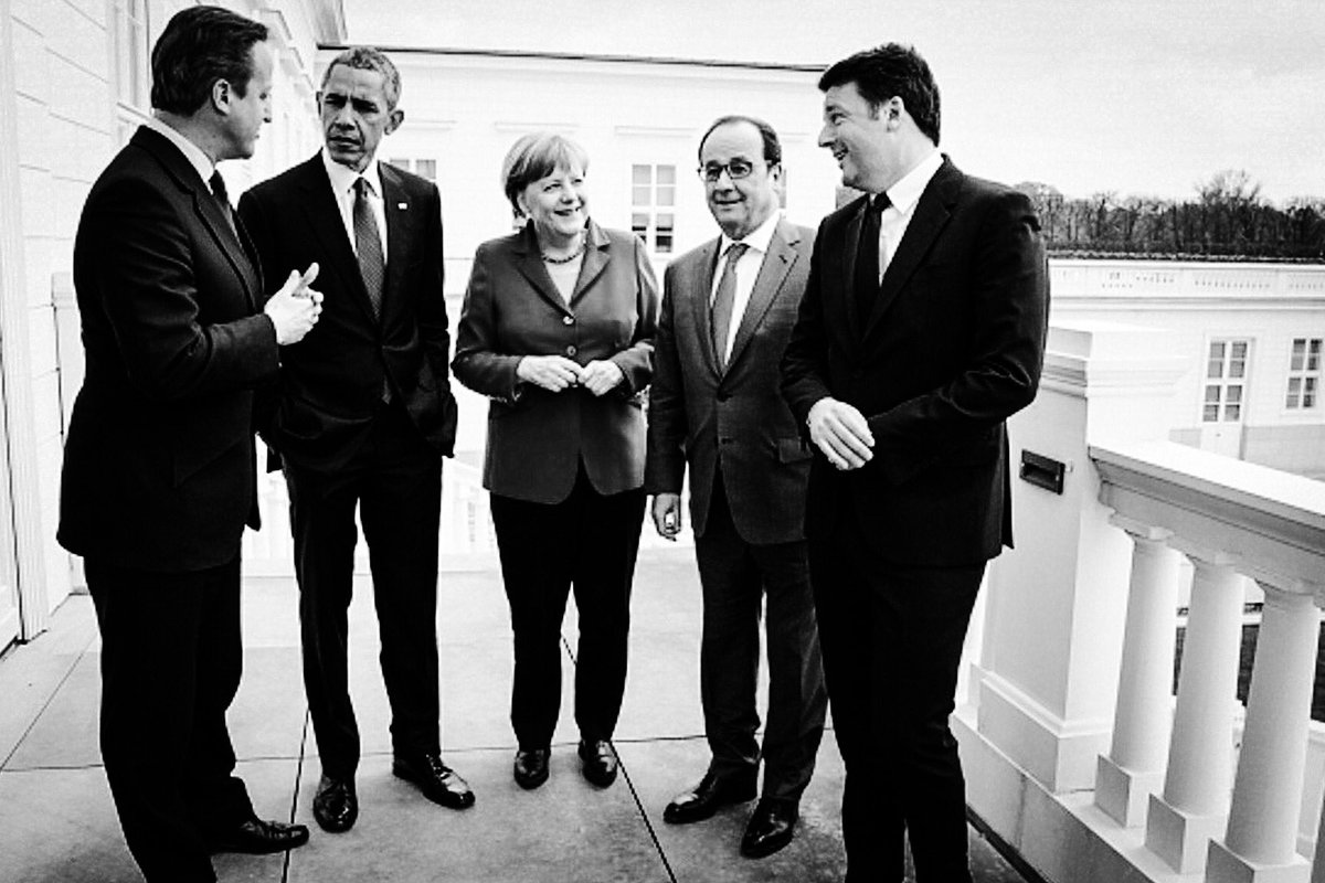 Who would have guessed? Angela Merkel – the last one standing. https://t.co/HTHdklnjDC