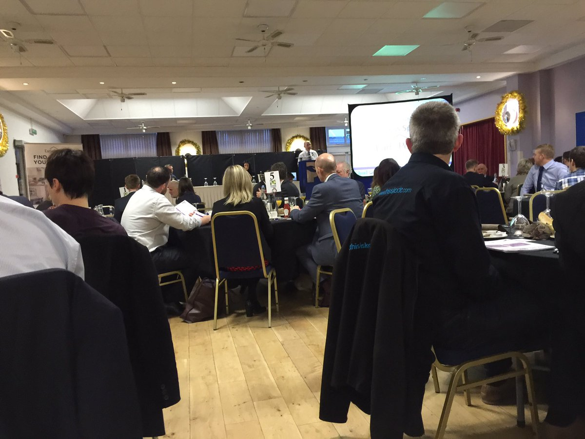 Great to be at @mansfield2020 business networking meeting