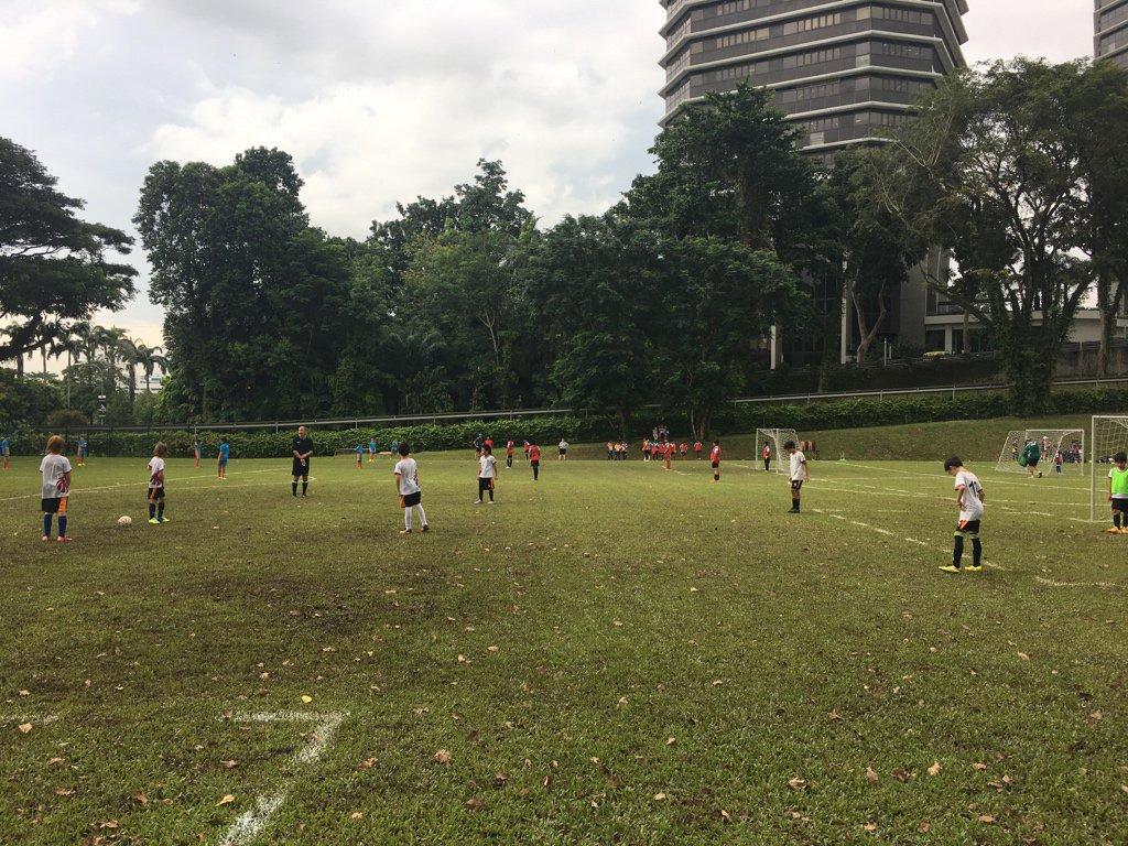 U11 Boys Soccer about to start their season vs Avondale #isspride https://t.co/1WDF4nRHT7