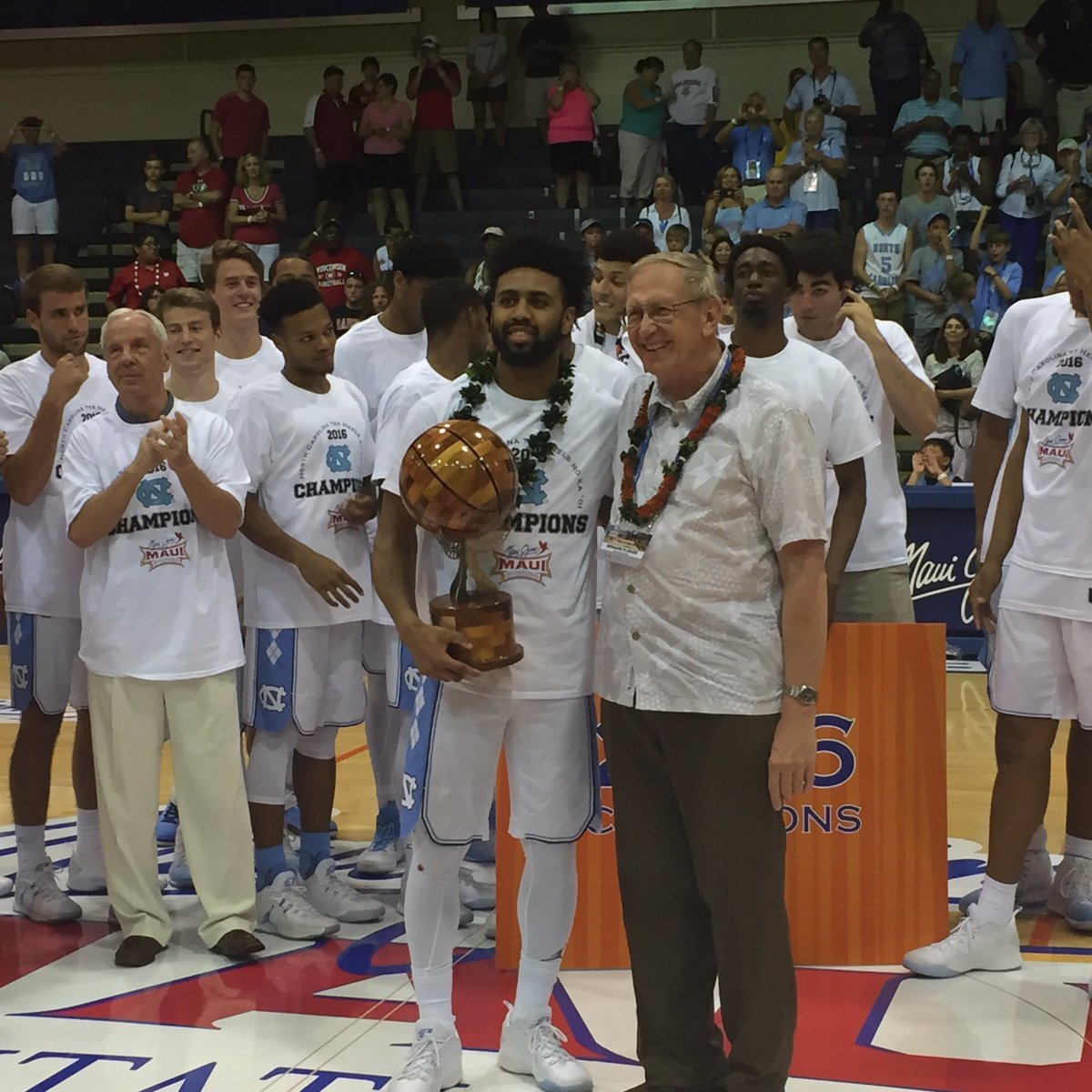 Your 2016 #MauiHoops #MVP Joel Berry II @UNC_Basketball https://t.co/i9jV3FzmCu