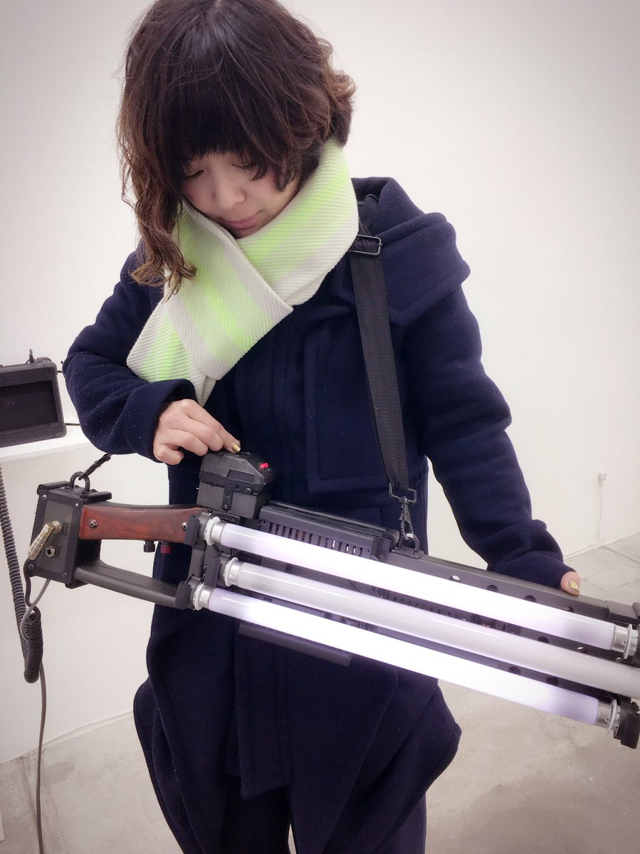 オプトロン触らせてもらえる!操作できるよ!αM「vol.5 伊東篤宏・角田俊也 Atsuhiro ITO, Toshiya TSUNODA」にて。 https://t.co/uLoFtLpm67 https://t.co/Rm9x3whMcA