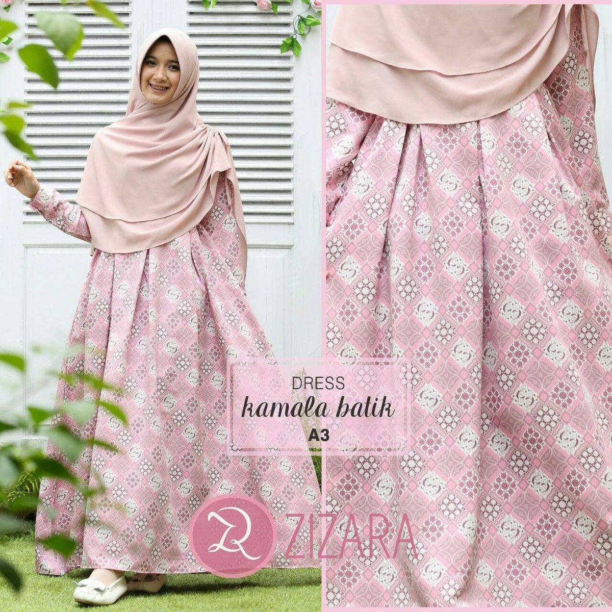 Free Ongkir Shopee On Twitter Kamala Motif Dress By Zizara