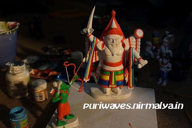 Painted Wooden Toys Craft Workshop – Pathuria Sahi Puri