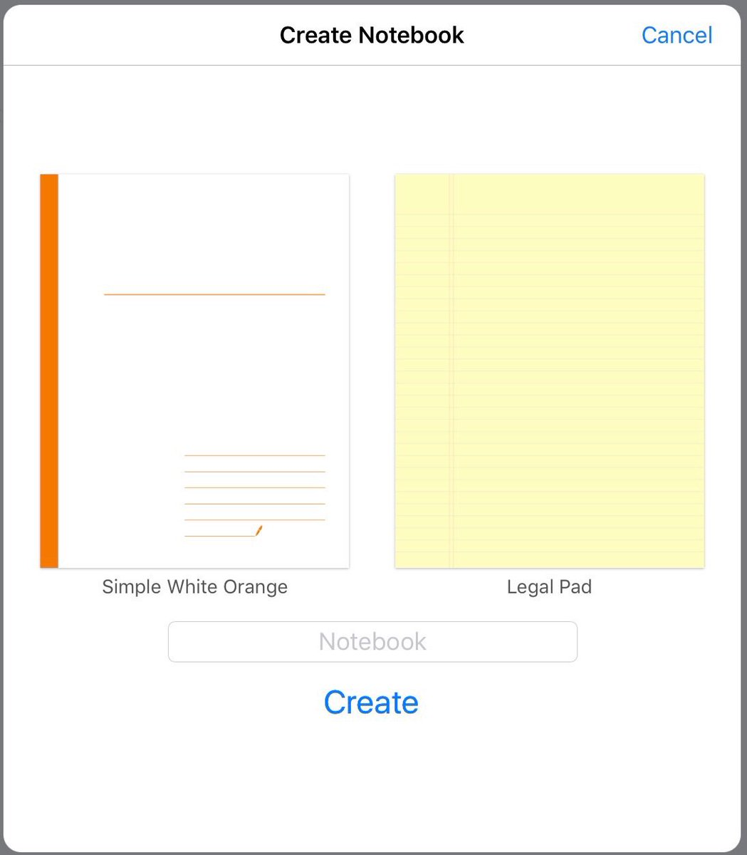 goodnotes on twitter we ve just added a new simple white orange