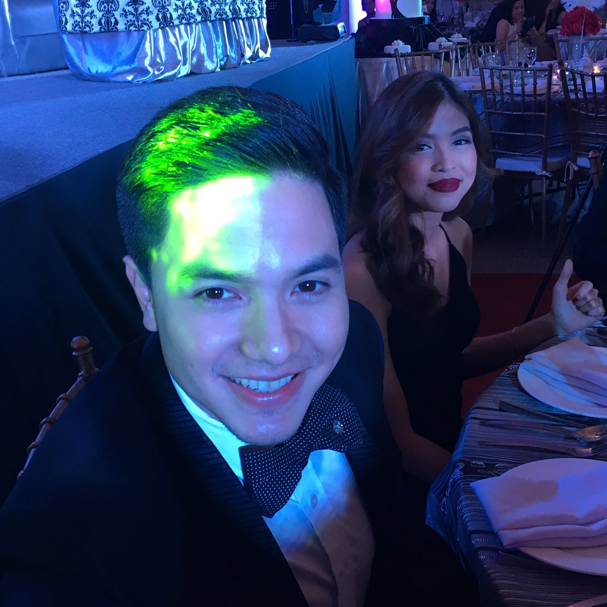 Yung binati niya ako while i was taking their pics! #ADNTimeless2016 love u both! https://t.co/khI5iUrYsX