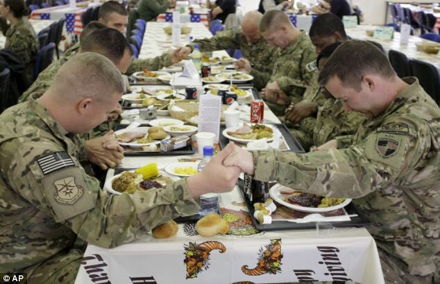 Happy Thanksgiving to those that cannot be home with their families.   #RememberEveryoneDeployed https://t.co/frg2HUeUP0