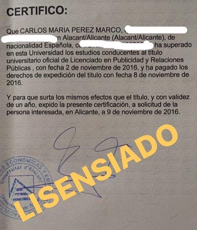 Fantástico Marcos De Título Universitario Patrón - Ideas de Arte ...