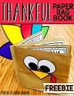 Thanksgiving Book., Teacher Idea