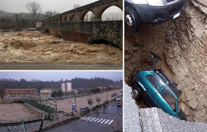 Maltempo: si contano i danni in Liguria, Piemonte e Sicilia