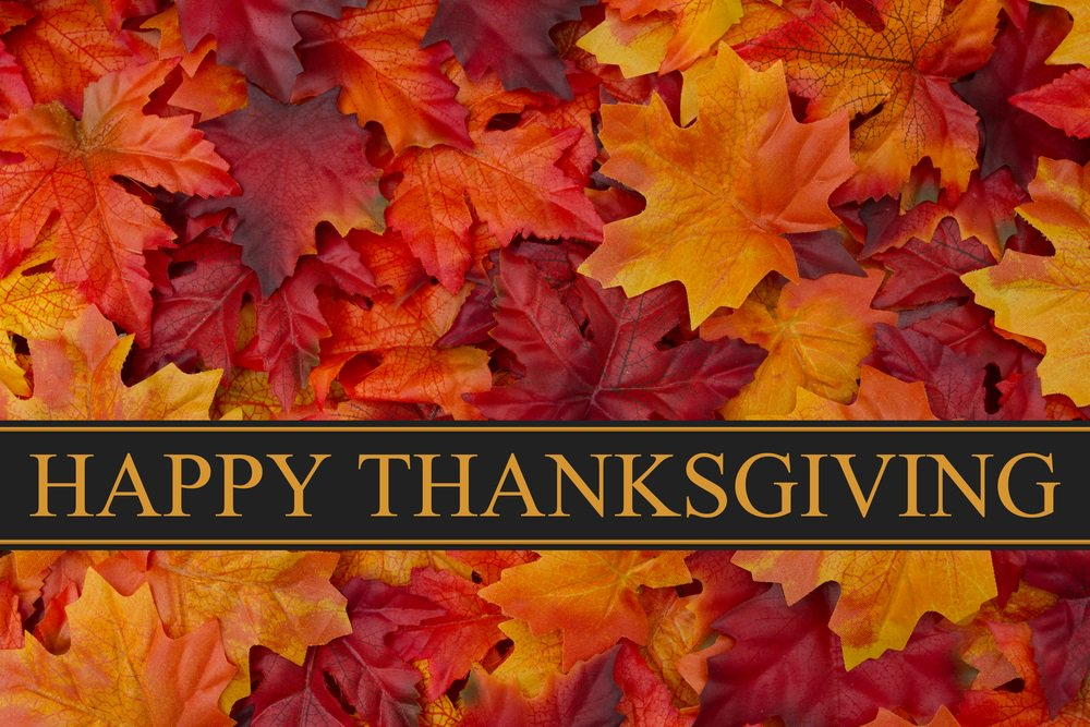 Wishing everyone a Happy Thanksgiving. We will resume normal hours of operation tomorrow morning at 06:00 am.
