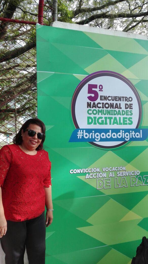 La docente Leslie Bravo de @UniCecar presente en el #CD2016 #BrigadaDigital con @JuegoNoABS https://t.co/VQxhTOkdEA