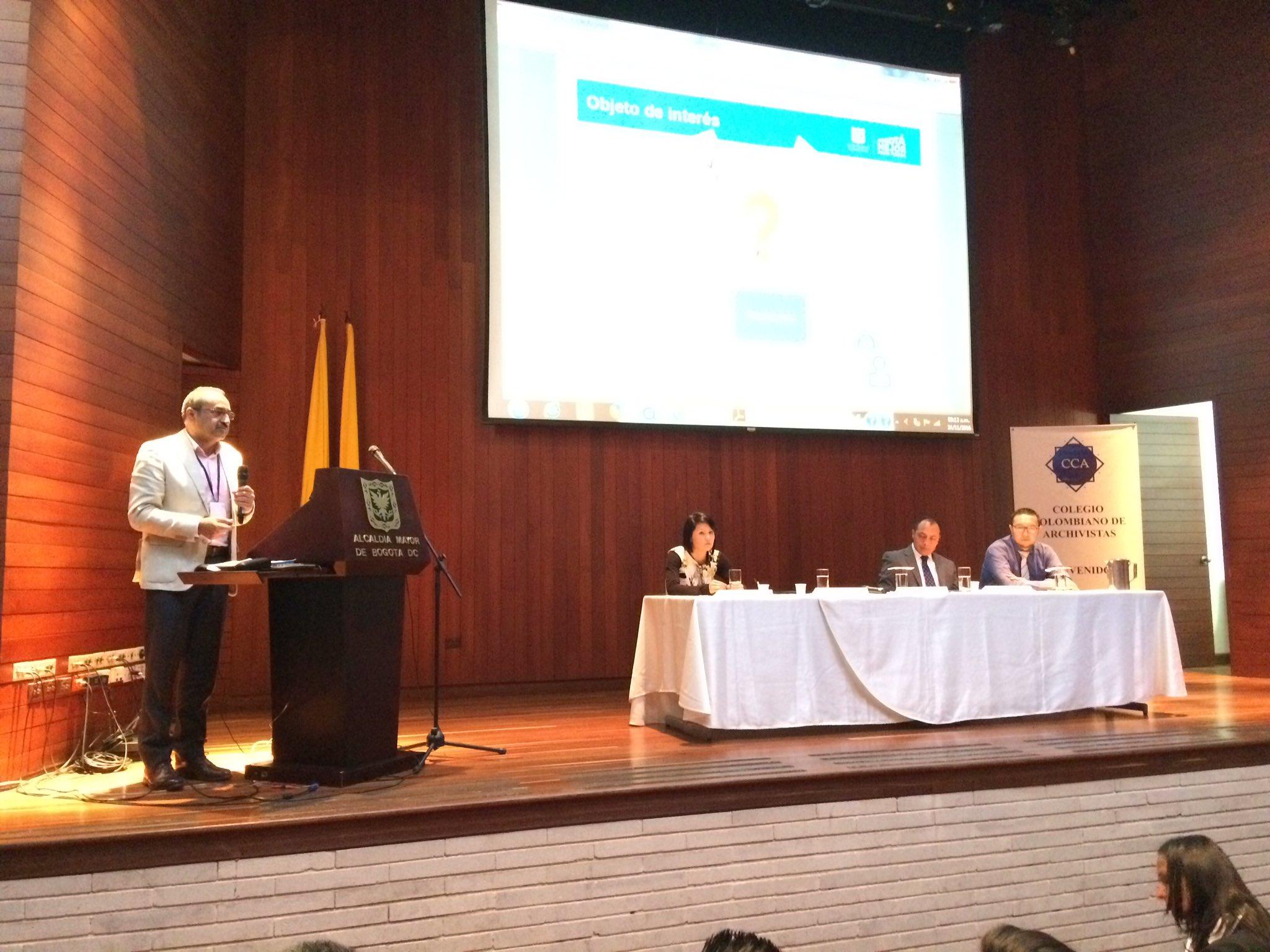 Leonardo Guzmán habla sobre preservación digital y los #RetosDeLosArchivosMunicipales https://t.co/aacgn4WHZK