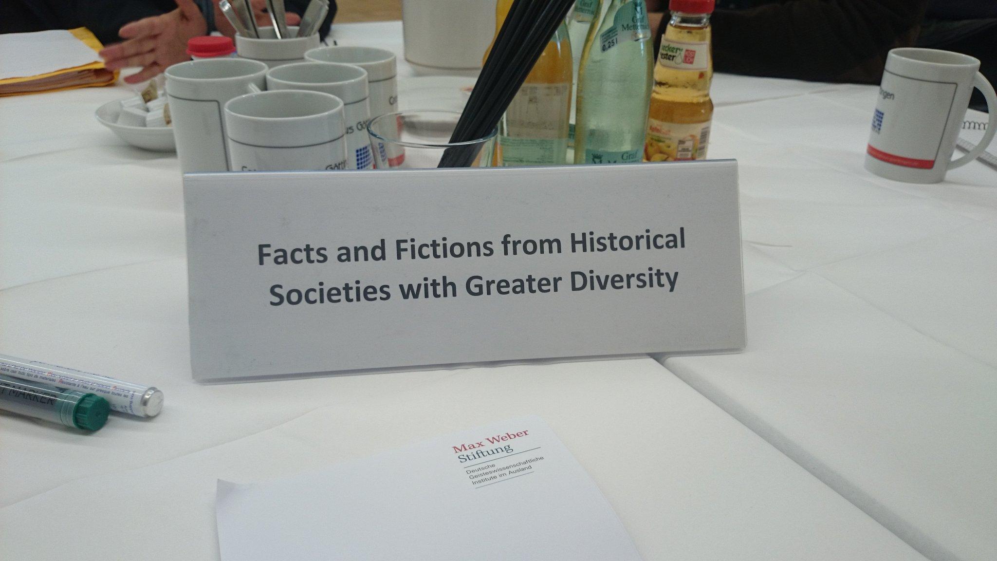 Gab es wirklich diverse Gesellschaften in der #Geschichte? Wir starten mit steilen Thesen ins #weberworldcafe :-) https://t.co/nuKaoEPgjM