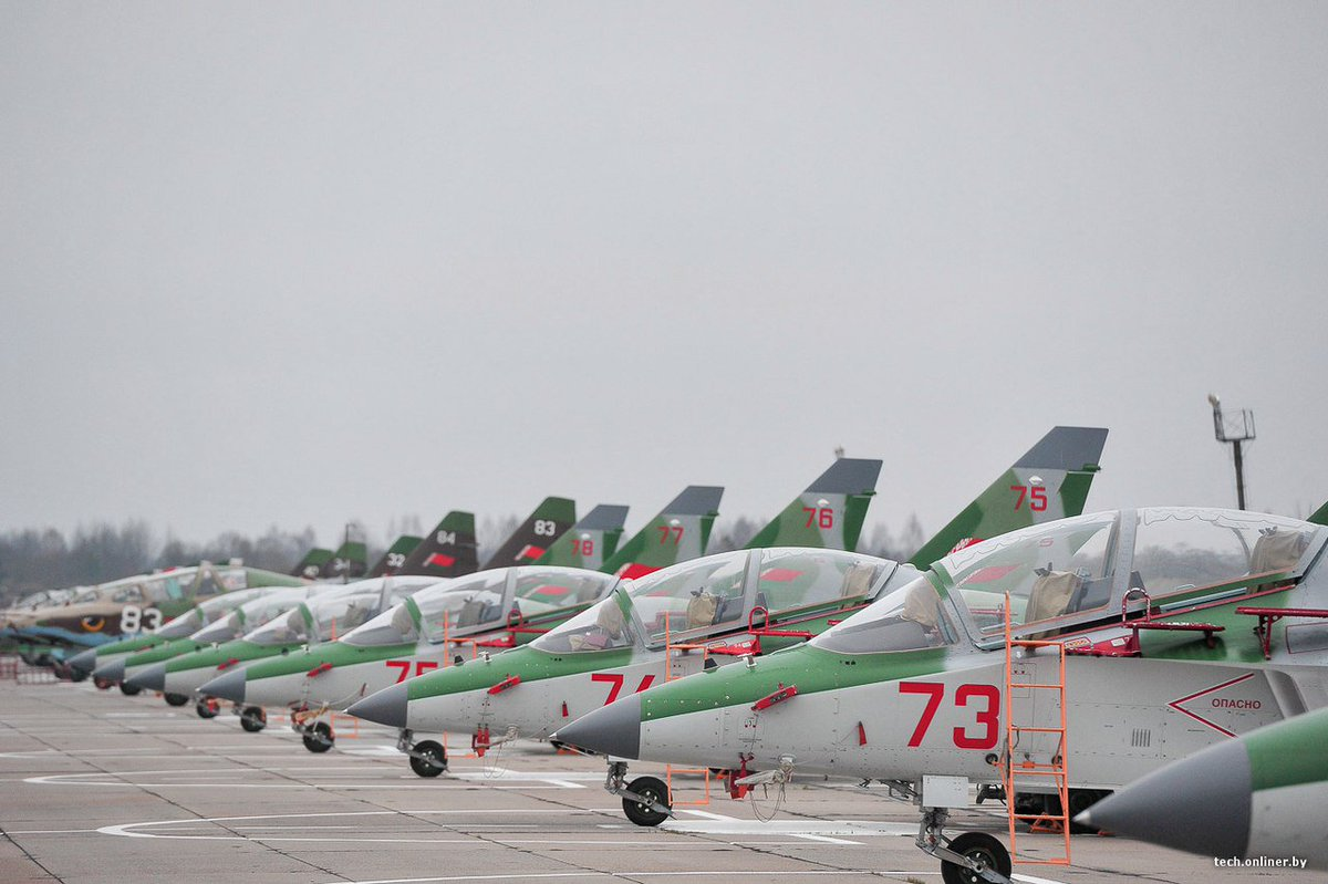 Belarus AIr Force received four more Yak-130s (8 ordered / Four delivered in 2015)