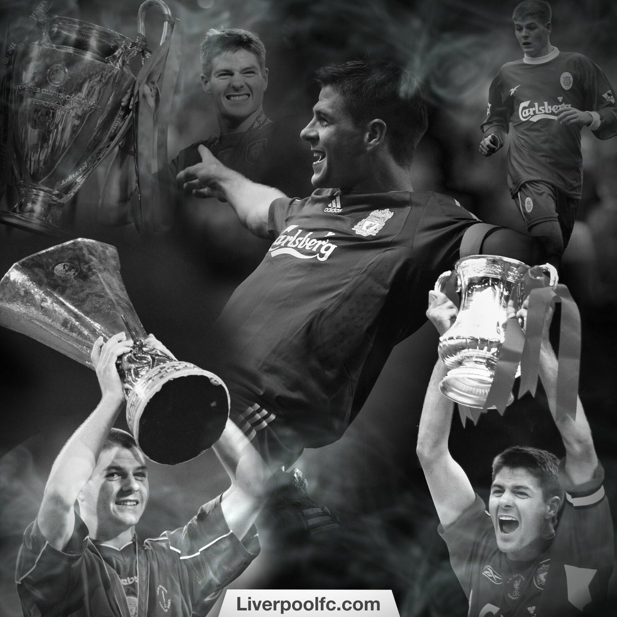 Steven Gerrard si ritira la leggenda del calcio inglese e del Liverpool