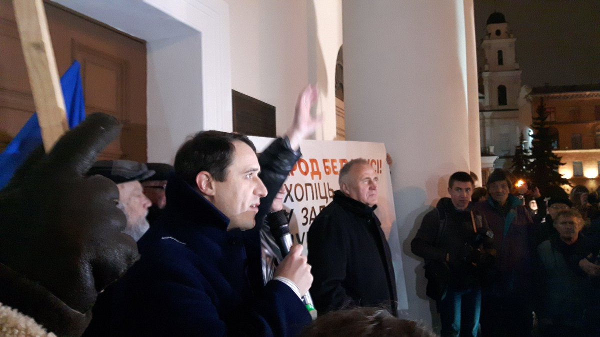 Pavel Seviarynets: for 20 years they have broken all laws, but in the end, freedom wins. The square chanting the names of political prisoners