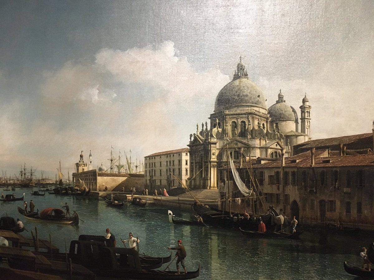 Venezia nel Settecento alle Gallerie d'Italia a Milano su Bellotto e Canaletto
