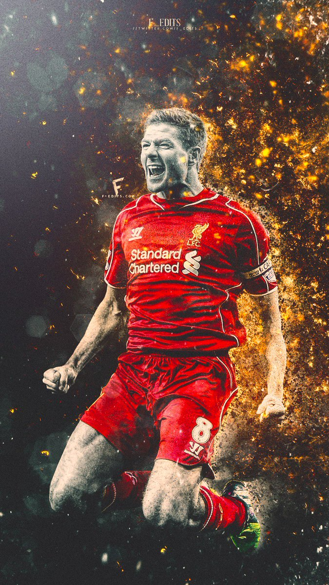 Fredrik En Twitter Steven Gerrard Mobile Wallpaper At Lfc