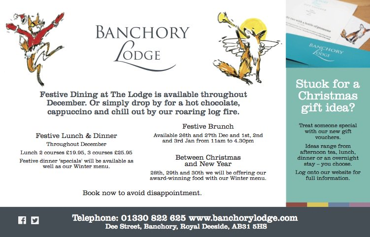 Banchory Lodge Hotel On Twitter Chill By One Of Our Fires This Dec
