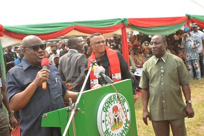 Governor Wike reiterated that Minister of Transportation, Rotimi Amaechi is in receipt of INEC Rivers rerun original result sheets extended to him by INEC.