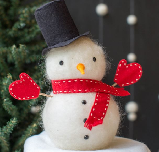 If You LOVE Snowmen You Will Love This Craft Project!