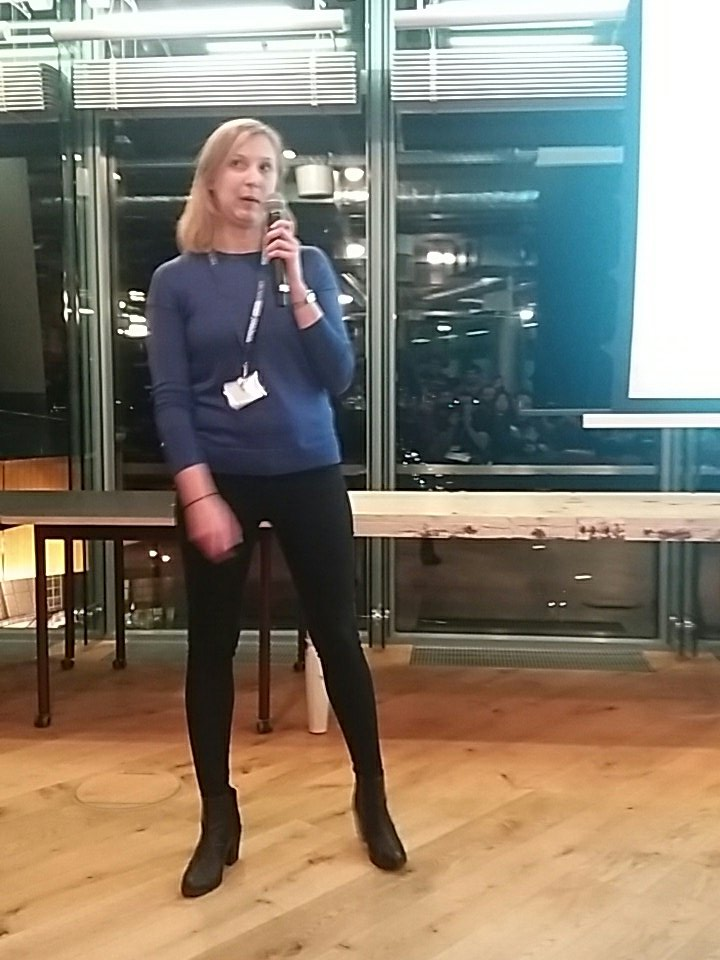 Carolin from @grunderszene is the last presenter at #TSJfair #Berlin https://t.co/zTBndPZi9J