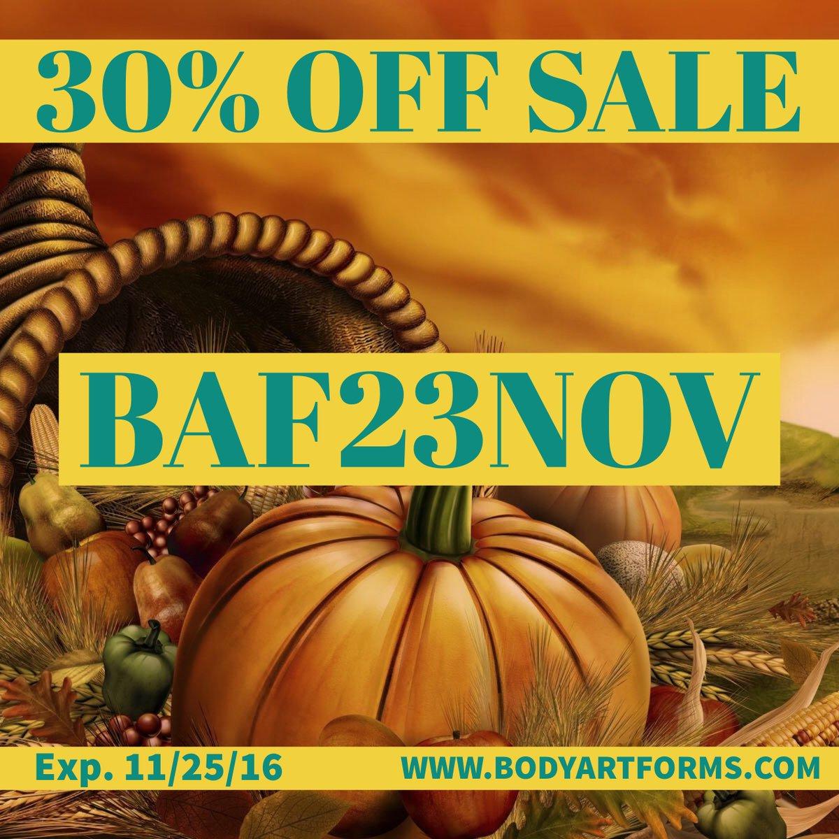 Bodyartforms coupon code