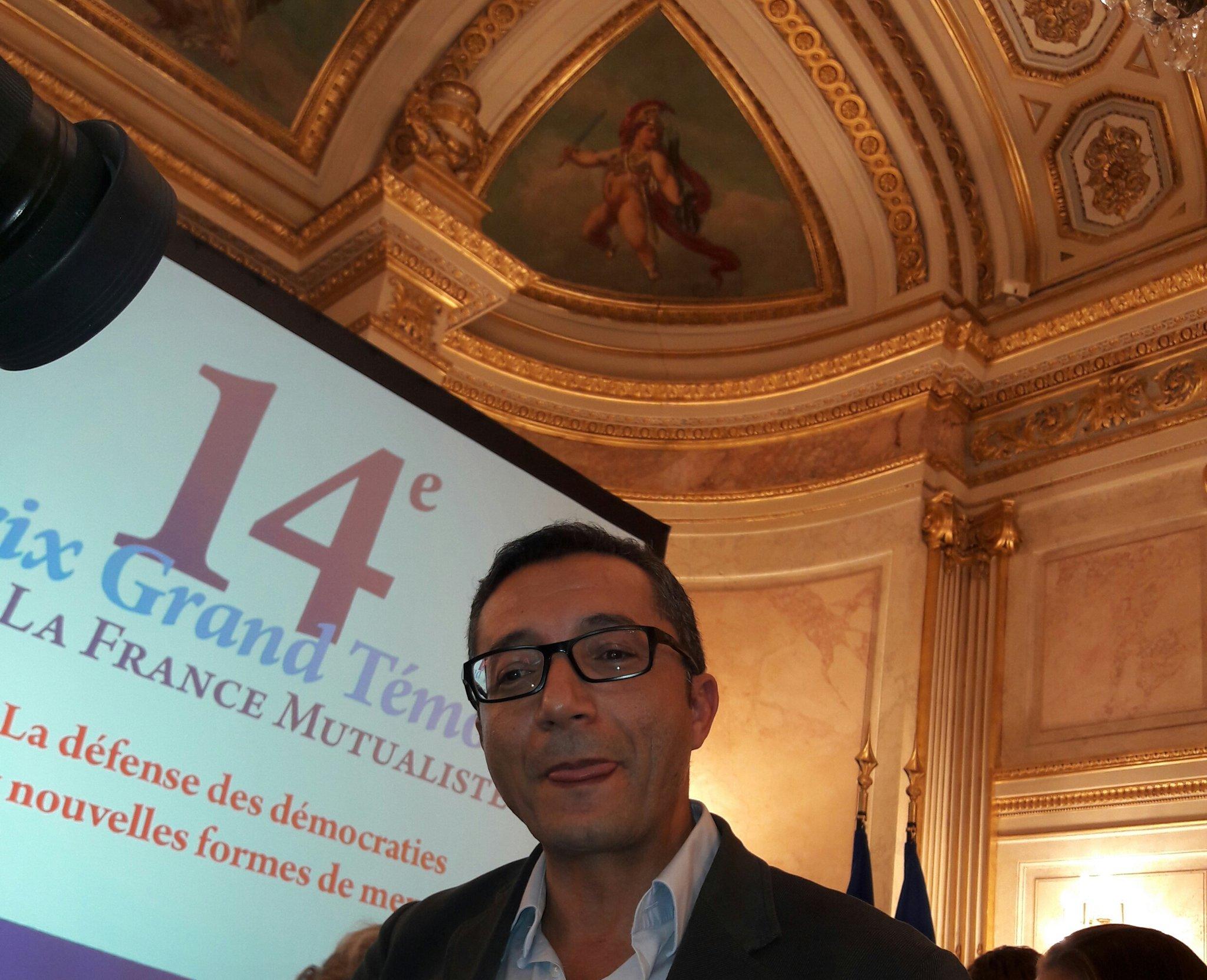 "#prixgrandtemoin Kamal Redouani, Prix du Jury Junior pour ""Inside Daech"" @EditionsArthaud https://t.co/BbTmZqxFN8"