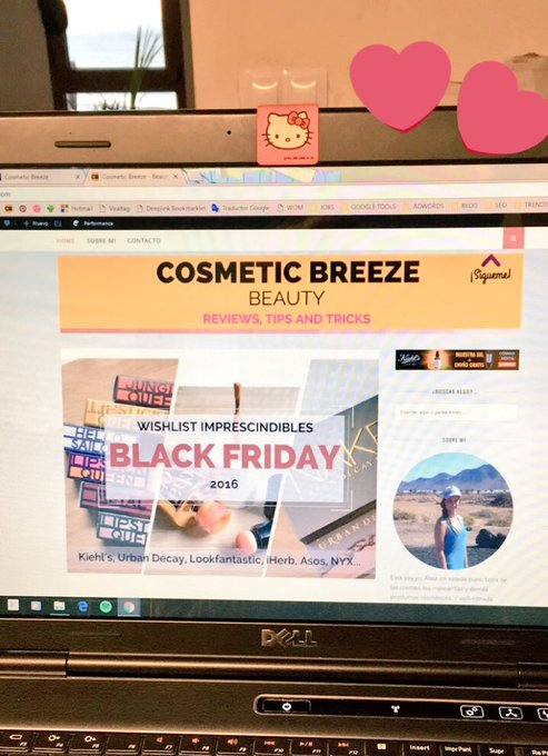 ¡Black Friday 2016! #Beauty