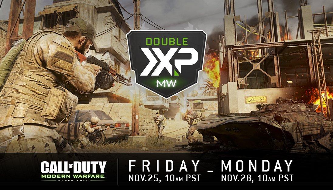 Call of Duty: Modern Warfare Remastered Double XP Thread