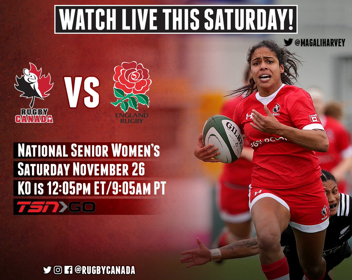 Rugby Canada On Twitter News Saturdays Test Match Between