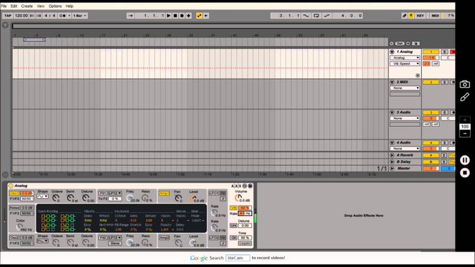 Tutorial:How to create a wobble bass in Ableton 9