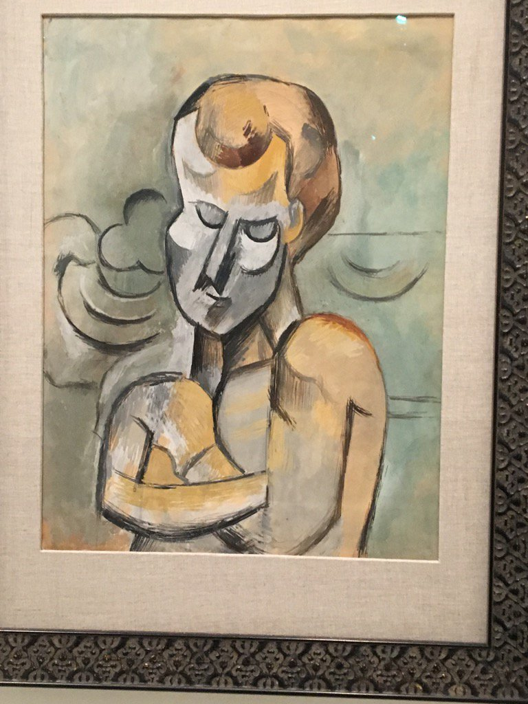 "Angry Painter 2016 bruce nussbaum on twitter: ""picasso. 1909. ""the man with his"