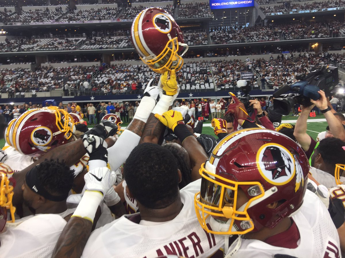 One team. #HTTR #WASvsDAL