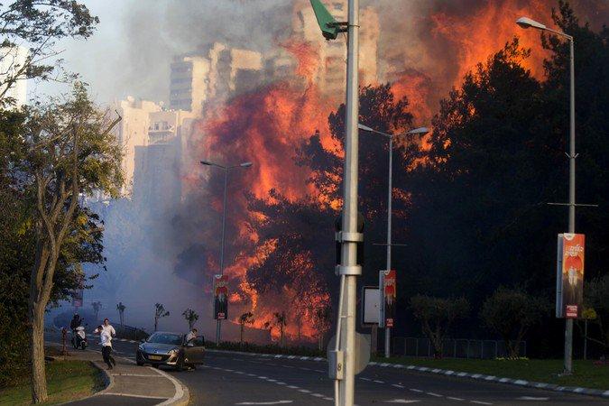 Для борьбы с пожарами Украина отправит в Израиль два специальных самолета, - Аваков - Цензор.НЕТ 154