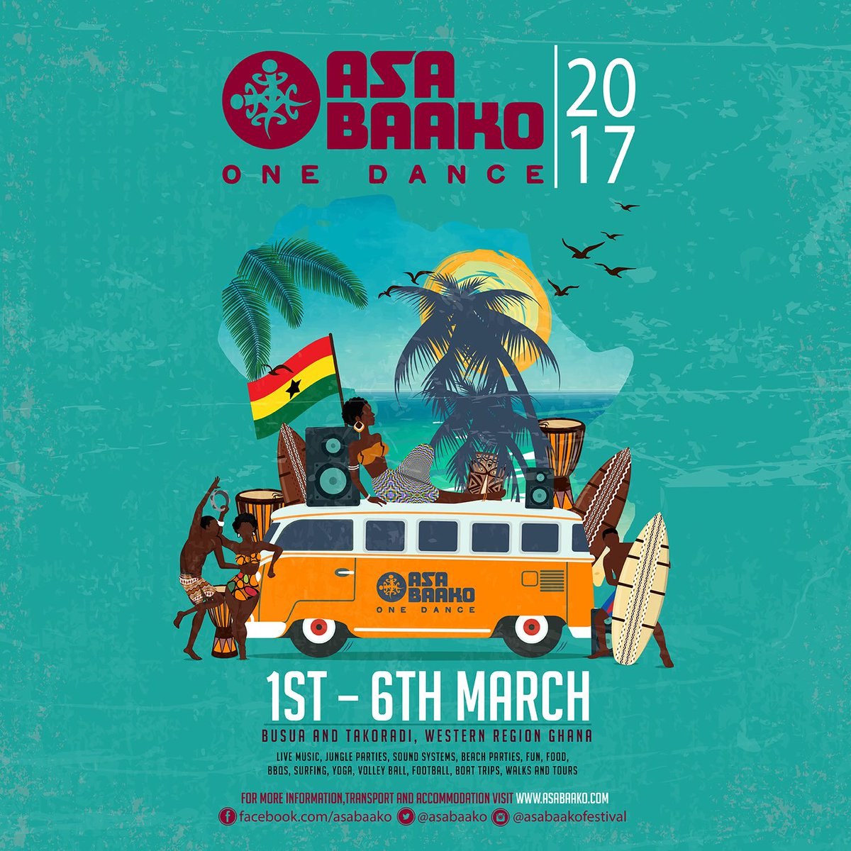 We are steadily getting ready....   #Asabaako2017 https://t.co/FDm14BI0xm