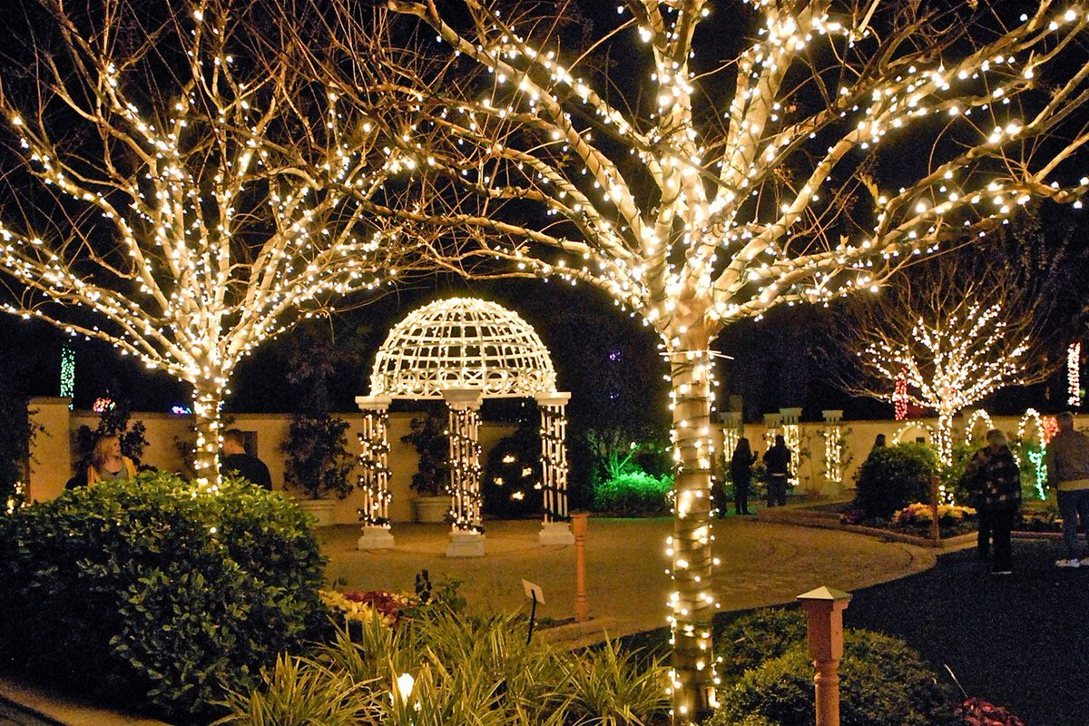 St pete clearwater on twitter florida botanical gardens - Florida botanical gardens christmas lights ...