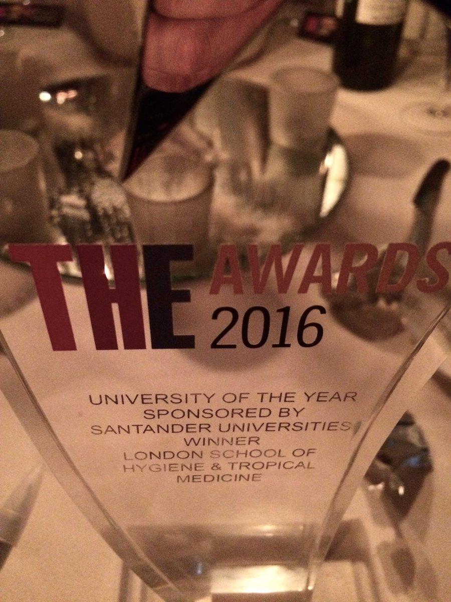 We won! We're so honoured to be University of the Year 2016! #THEawards https://t.co/XzGMtELOne