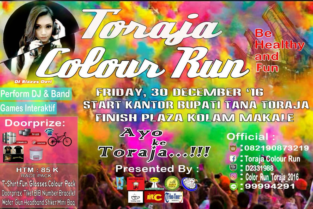 Toraja Color Run 2016