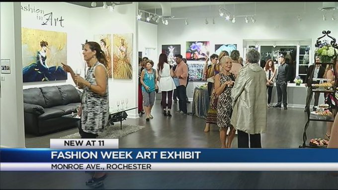 'Fashion in Art' exhibit opens at the Nan Miller Gallery
