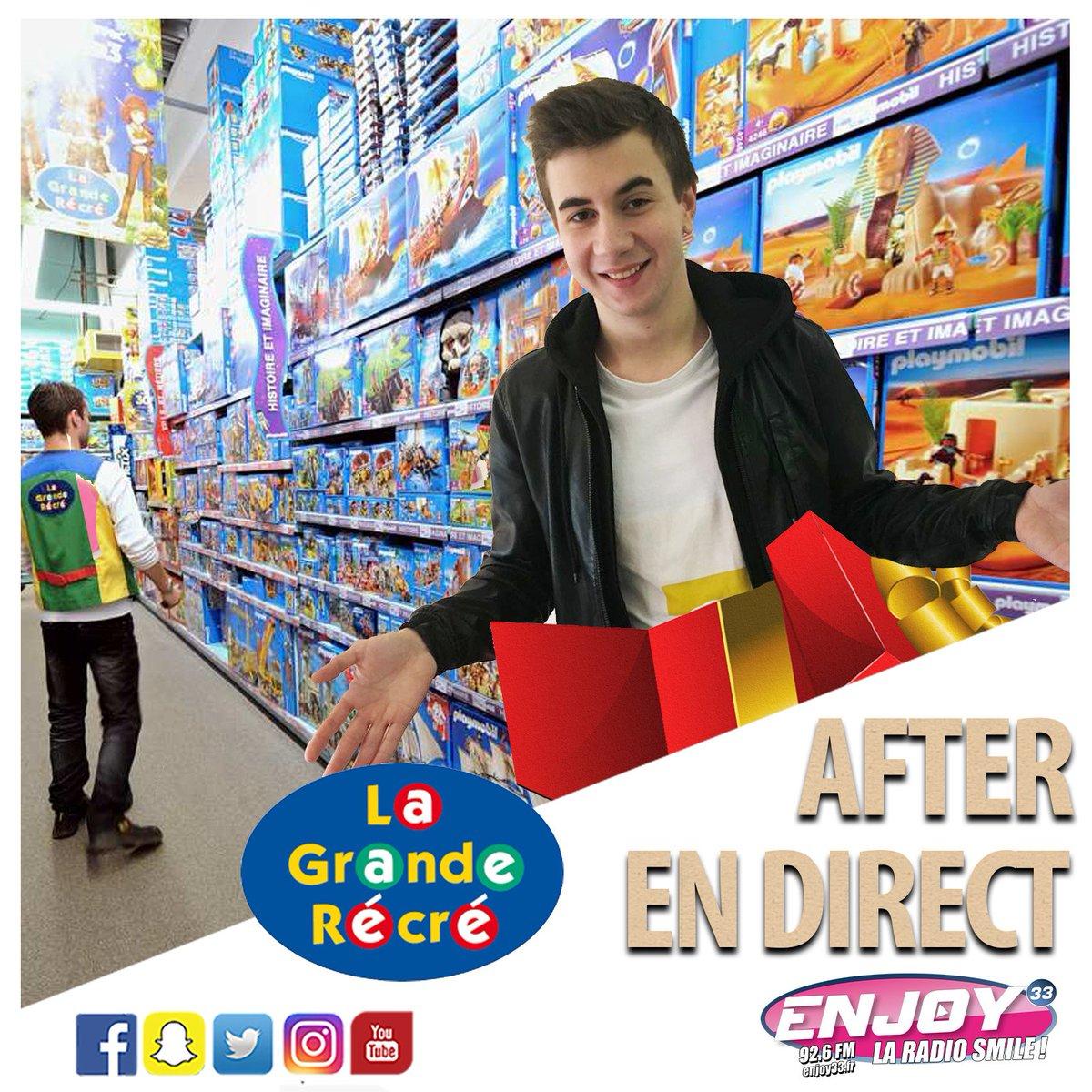 Ce #Vendredi #aprem : EMISSION SPECIALE #Noel2016 #radio #Bordeaux #Enjoy33 !!! #LaGrandeRécré #Villenave<br>http://pic.twitter.com/1ODPt0DBTT