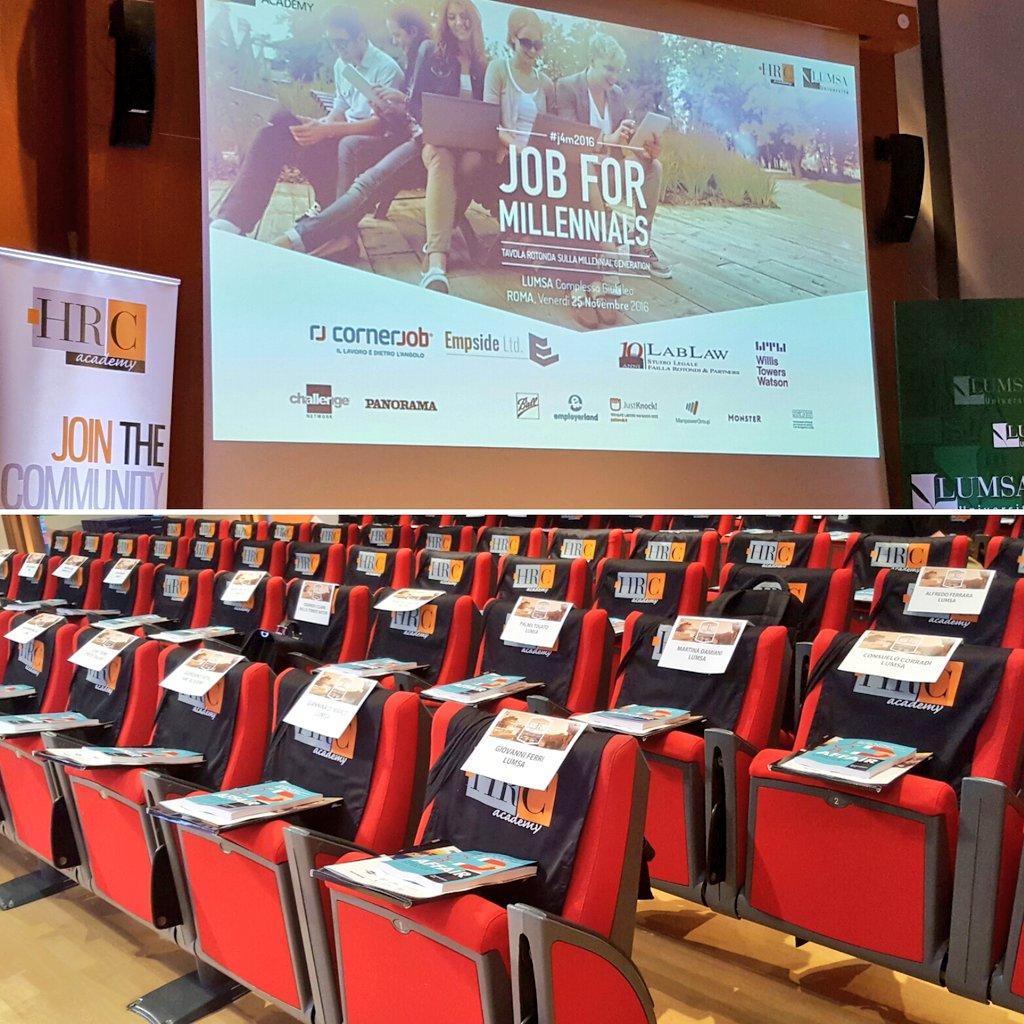 We are #ready #j4m2016 @UniLUMSA  ❗#meeting #job #Millennials https://t.co/rgBKiXr6A5