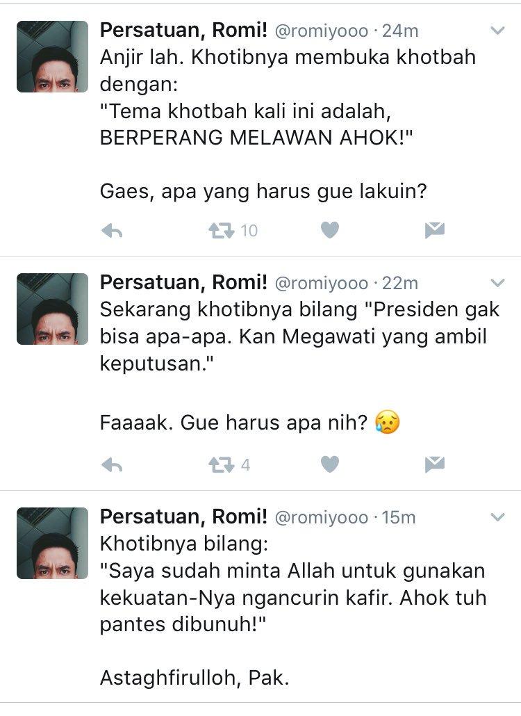 Jumatan di Jakarta be like.   (Diambil dari tweetnya @romiyooo) https://t.co/DJkBxX4DdU