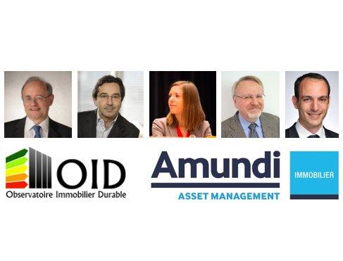 Thumbnail for Conférence OID & Amundi Immobilier : Baromètre 2016, à l'heure des promesses numériques !