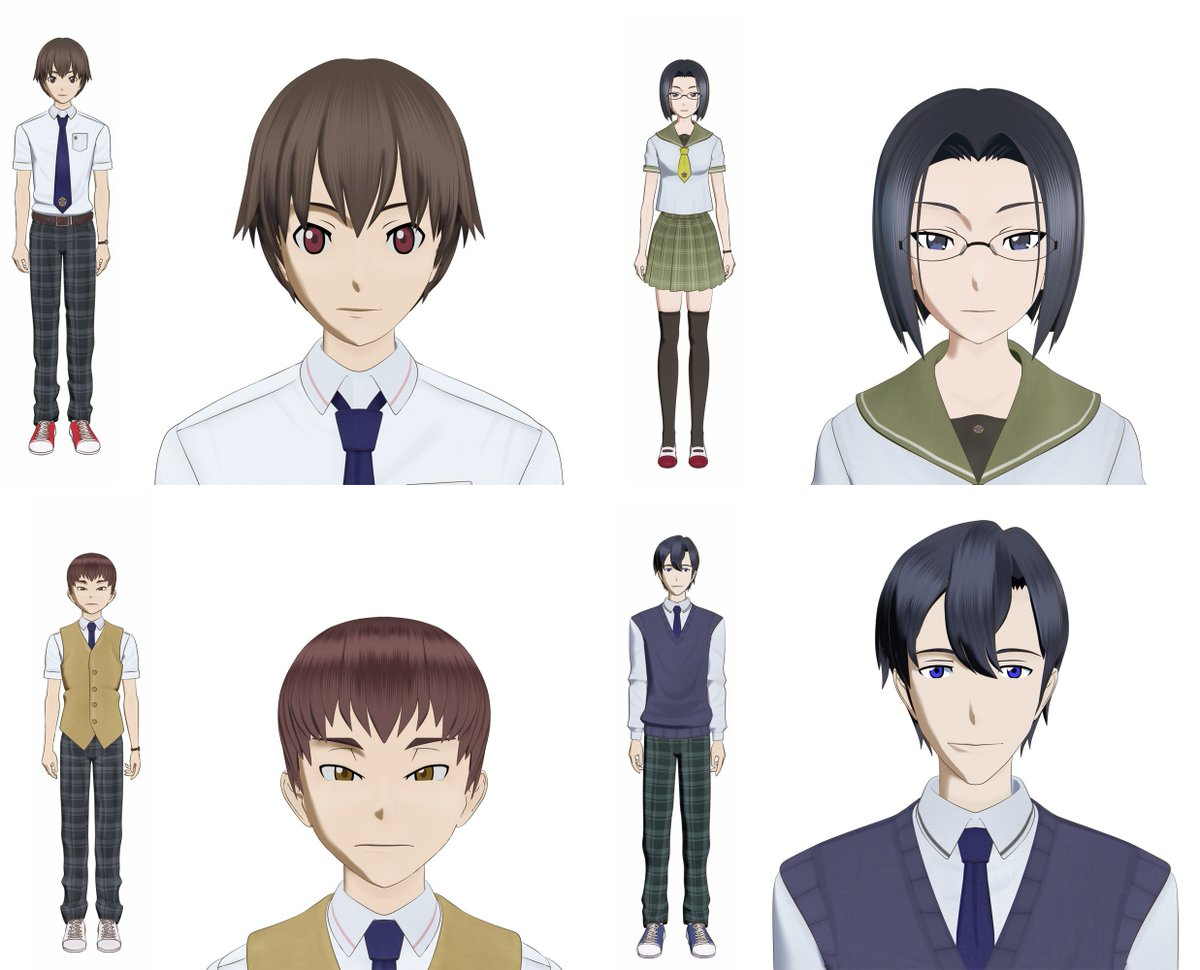 Pkjd On Twitter Ao Oni The Animation Film Character Designs