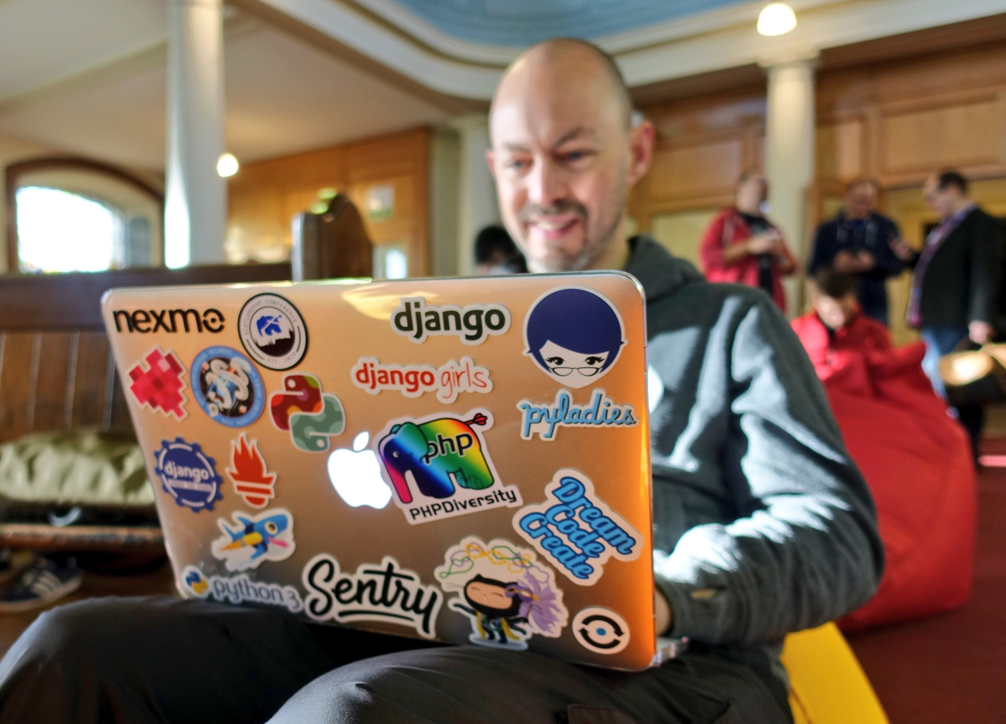 No shortage of stickers  #ota16 https://t.co/C8Z0iaKqRT