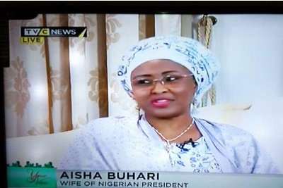 Wife of the President, Aisha Buhari speaks to the ladies of YourView program on TVC News about her pet projects, support for her husband's govt, others