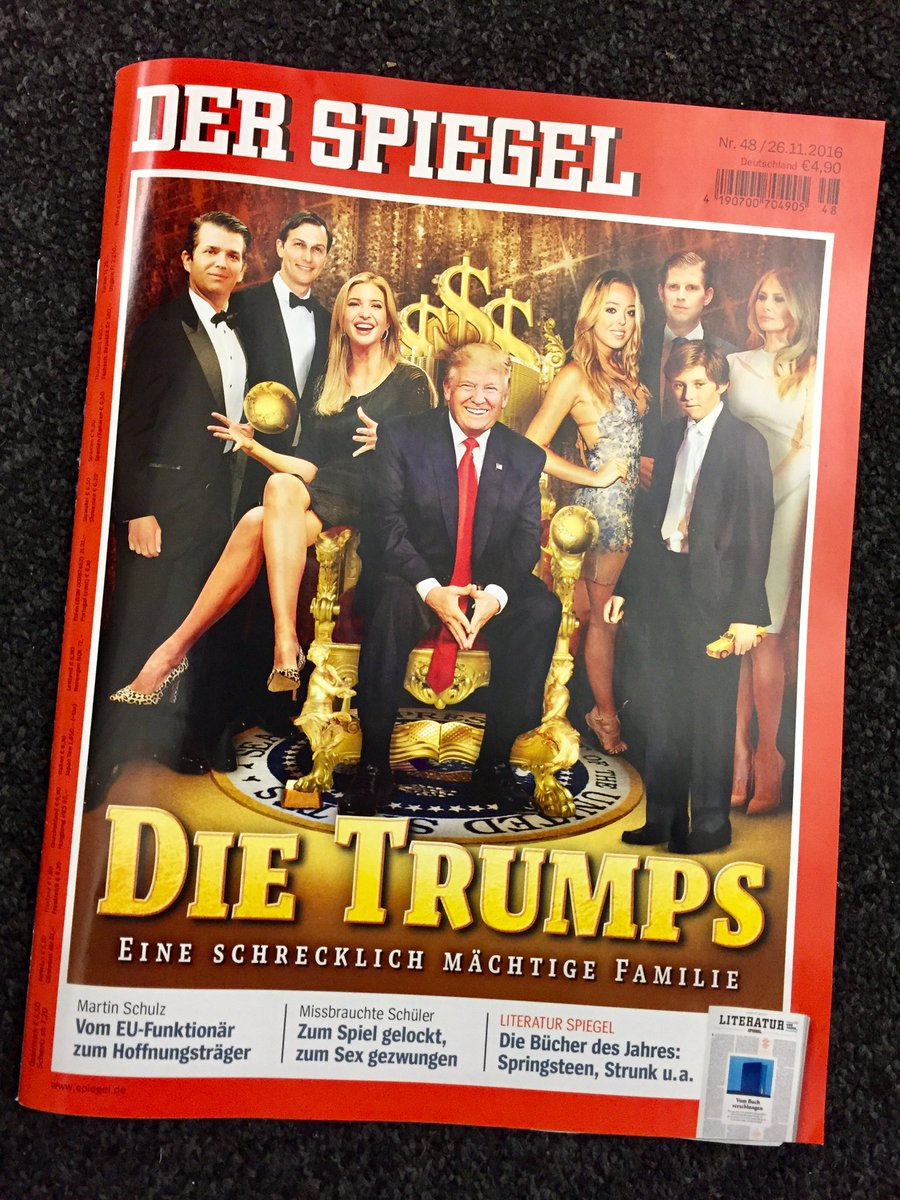Der spiegel war on trump for De4r spiegel