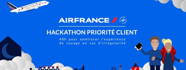 Thumbnail for Hackathon Priorité Client d'Air France
